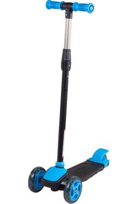 Erva Toys 3 Teker Frenli Twist Scoter - Mavi