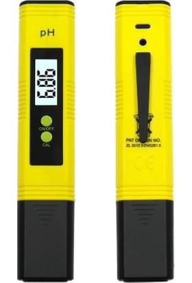 Soylu LCD Dijital Ph Metre 0.01 Hassasiyetinde Su Sıvı Akvaryum Ph Ölçer