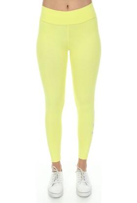 Kappa Kadın Tayt Blooms Sarı