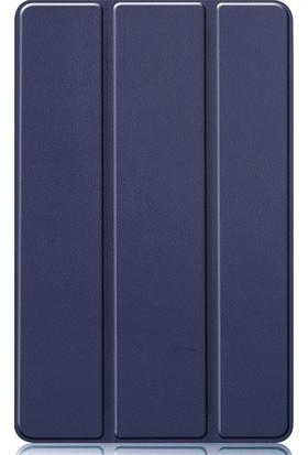Teleplus Samsung Galaxy Tab S6 Lite P610 Kılıf Cover Standlı Kapak Lacivert