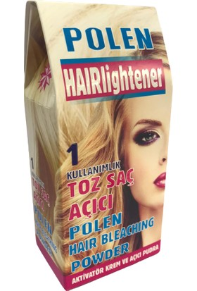 Polen Hairlightener Hair Bleaching Powder Toz Saç Açıcı