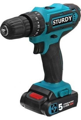 Sturdy Power Tools 32 Volt 5.0 Amper Çift Akülü Şarjlı Vidalama Matkap