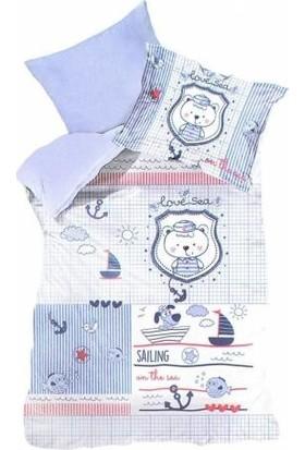 Laura Bella Sailing Bebek Nevresim Takımı 3 Boyutlu