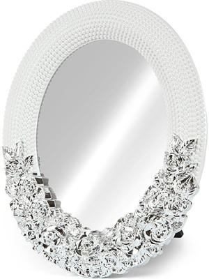 Birlik Fotoğrafçılık Büyük Yuvarlak LED Ayna (Desenli) XY-035