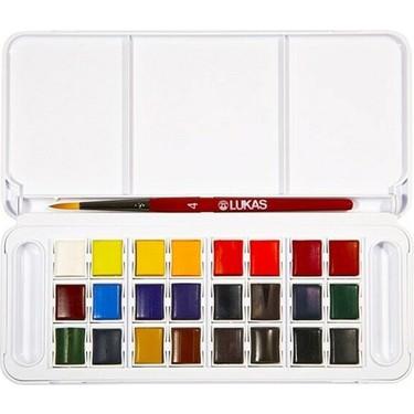 Lukas Sulu Boya Takımı Tablet 24 Renk Fiyatı - Taksit Seçenekleri