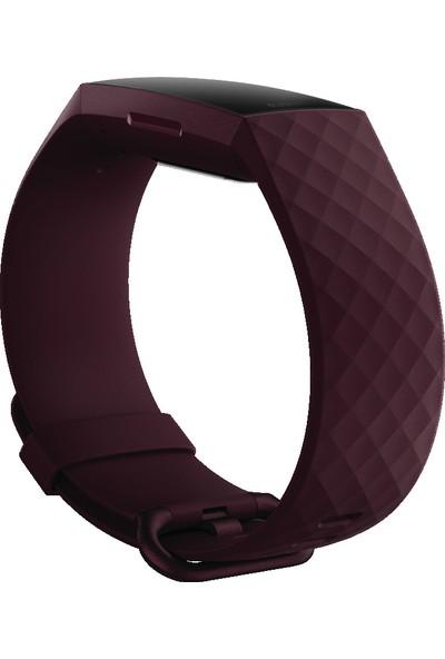 Fitbit Charge 4 Akıllı Bileklik - Gül Ağacı