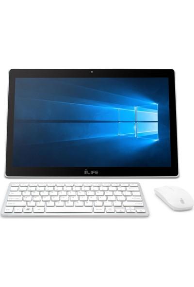 I-Life ZED Intel Celeron N3350 4GB 500GB Windows 10 Home All In One Bilgisayar IL.1703.4500BSKDSAE