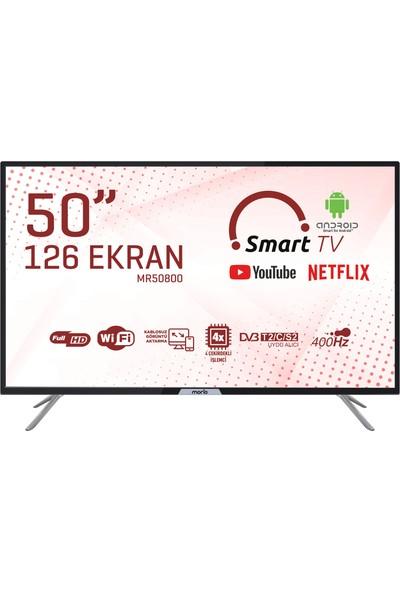 """Morio MR50800 50"""" 126 Ekran Uydu Alıcılı Full HD Smart LED TV"""