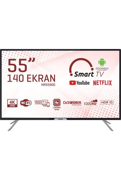 """Morio MR55900 55"""" 140 Ekran Uydu Alıcılı 4K Ultra HD Smart LED TV"""