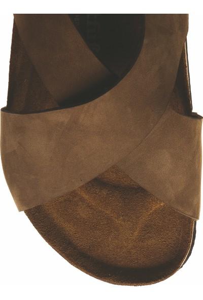 Comfortfüsse Fayette Deri & Mantar Tabanlı Kadın Sandalet