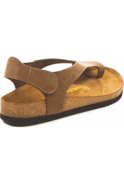 Comfortfüsse Felecia Deri & Mantar Tabanlı Kadın Sandalet