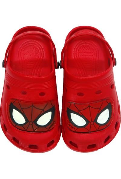 Spiderman Erkek Çocuk Kırmızı Terlik