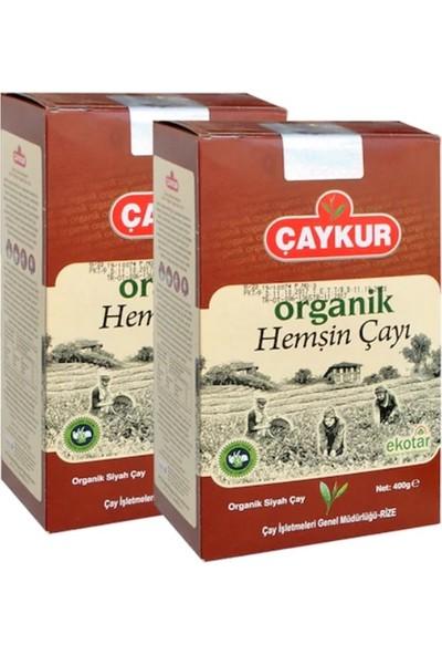 Çaykur Organik Hemşin Çayı 400 gr Karton Kutu 2 Adet