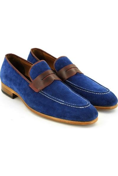 Temmo Bespoke El Yapımı Süet Loafer Ayakkabı