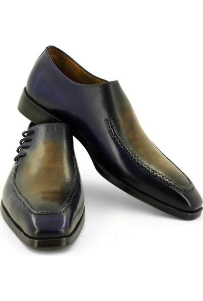 Temmo Bespoke Yandan Bağcıklı Oxford Ayakkabı