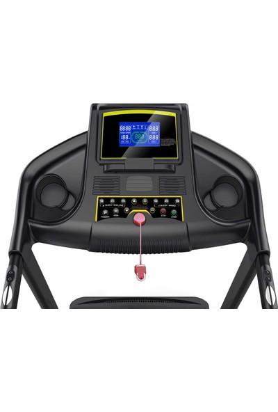 Fox Fitness C 320 Otomatik Eğim ve Esnek Zeminli Koşu Bandı + Egzersiz Tekerleği