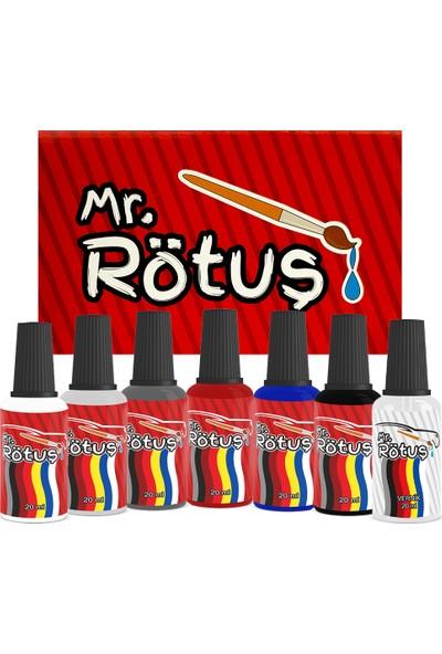Mr Rötuş® Çizik Giderici Oto Rötuş Boyası Patentli - Gece Mavi 10 ml