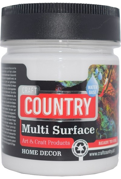 Craft Country Multi Surface Hobi Boyası 550 cc 1002 Antik Beyaz
