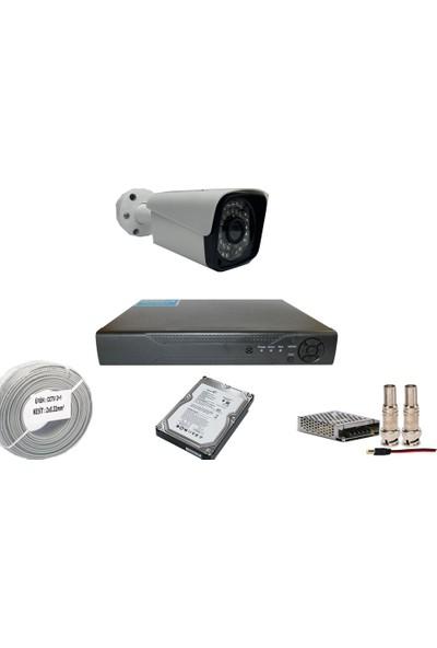 Promise 1 Kameralı Set 3 Mp Ahd Sistem 1080P Gece Görüşlü Kamera Sistemi Harddisk Dahil