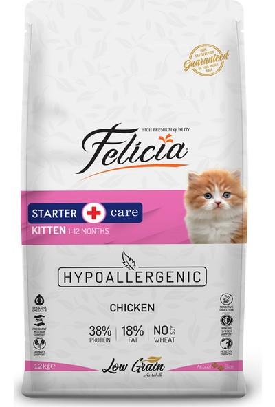 Felicia Tavuklu-Hamsili Yavru Kedi Maması 12 Kg