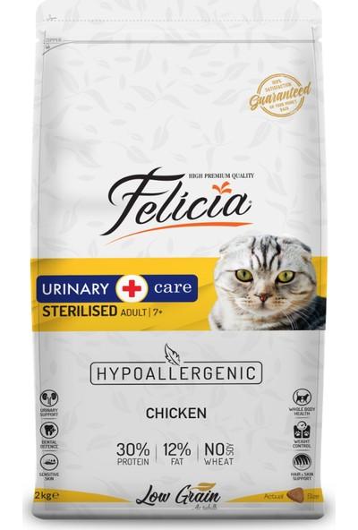 Felicia 2 kg Sterilised Kısırlaştırılmış Tavuklu Kedi Maması