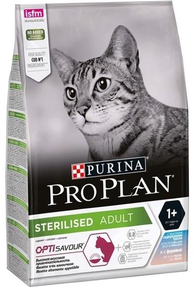 Pro Plan Morina ve Okyanus Balıklı Kısır Yetişkin Kedi Maması 3 kg