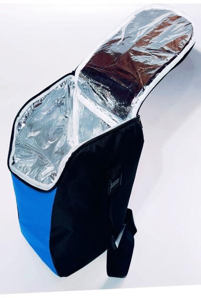 Ksburda Sıcak Soğuk Tutucu Kamp Piknik Buzluk Çanta 12 Litre Mavi