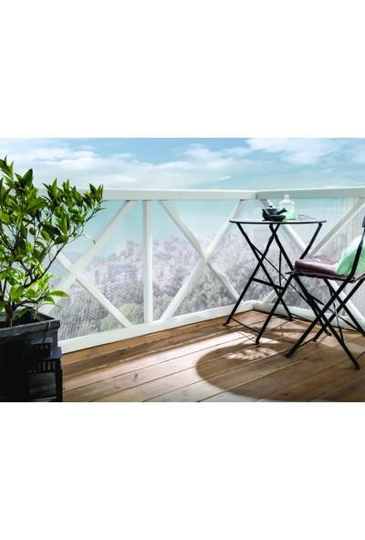 Intermas 170604 C-104 Yeşil 1x25 m 5x5 mm UV Filtreli Yüksek Dayanıklı Plastik Çevirme Çiti (HDPE)