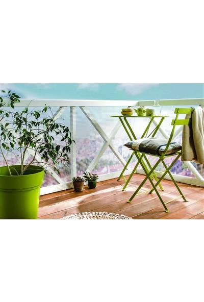 Intermas 170606 C-114 Yeşil 1x25 m 10x10 mm UV Filtreli Yüksek Dayanıklı Plastik Çevirme Çiti (HDPE)