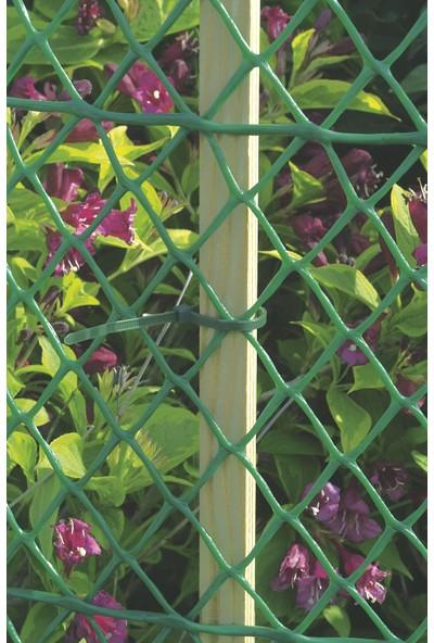 Intermas 170629 FLORANET Yeşil 40 cm x 25 m 23x23 mm UV Filtreli Yüksek Dayanıklı Plastik Çevirme Çiti (HDPE)