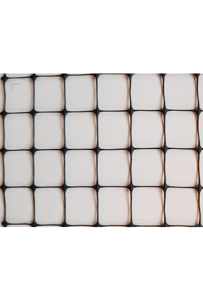 Intermas 170611 AVINET Siyah 1x200 m 16x16 mm UV Filtreli Yüksek Dayanıklı Çok Amaçlı Plastik Ağ (PP)