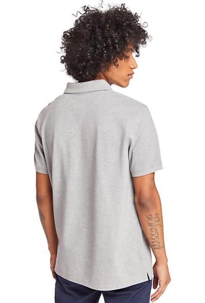 Timberland Ss Mr Polo Erkek T-Shirt Gri