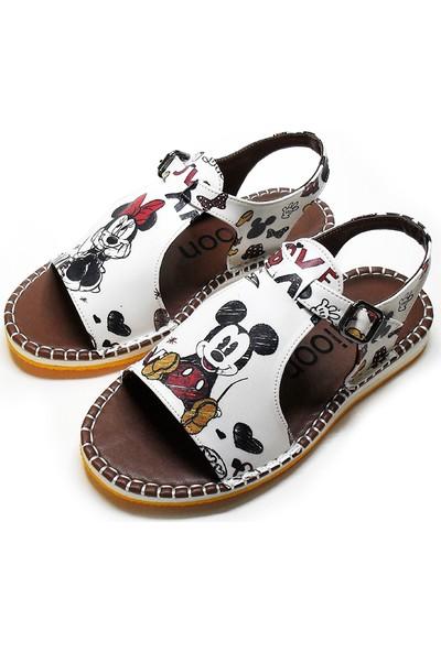 Milioon Mickey Mouse Sevimli Sandalet