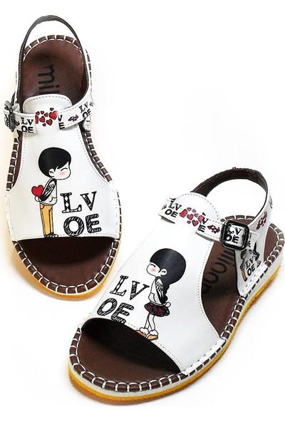 Milioon I Love You Sandalet