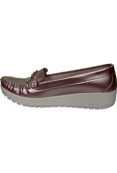 Yazkış Ceylan Dolgu Tabanlı Comfort Anne Ayakkabısı