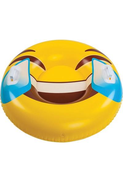 Big Mouth Emoji Şişme Kızak ve Deniz Yatağı