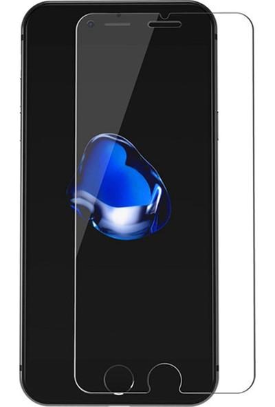 Logis Apple iPhone 6-6s Plus Kırılmaz Ekran Koruyucu Temperli Cam