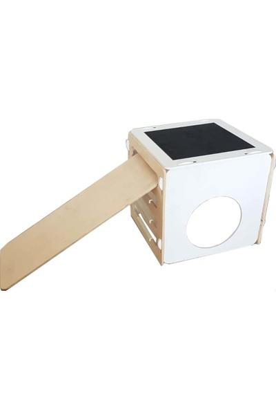 Kajuu Kids Tırmanma Küpü Pikler Cube Kaydırak