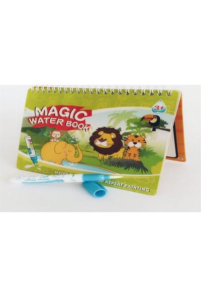 Magic Water Sihirli Boyama Kitabı Orman Hayvanları