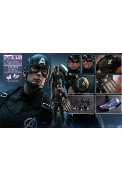 Hot Toys Captain America Concept Art Version Sixth Scale Figür