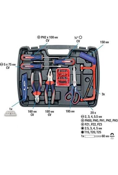 KWB 370730 Çantalı Alet Seti 65'li