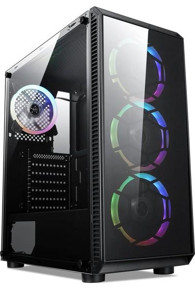"""TURBOX ATM900068 Intel i7 8GB Ram 2TB Hdd 4GB Ekran Kartı 21.5"""" Monitör Masaüstü Bilgisayar"""