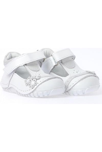 Kiko Kids Teo 130 Deri Cırtlı Kız Çocuk Ayakkabı