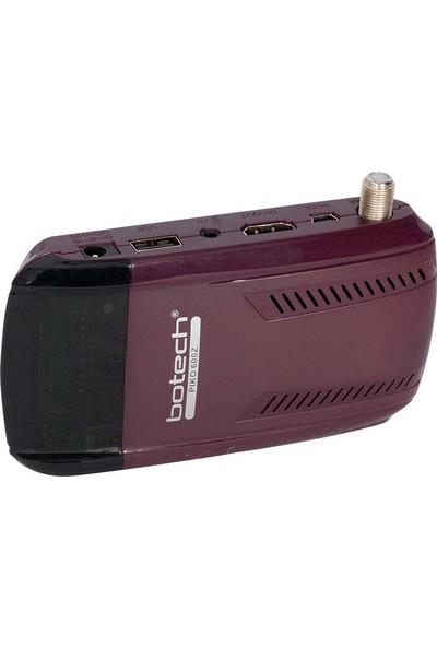 Botech Pıko Z 600 Ip Destekli Full Hd Mini Uydu Alıcısı