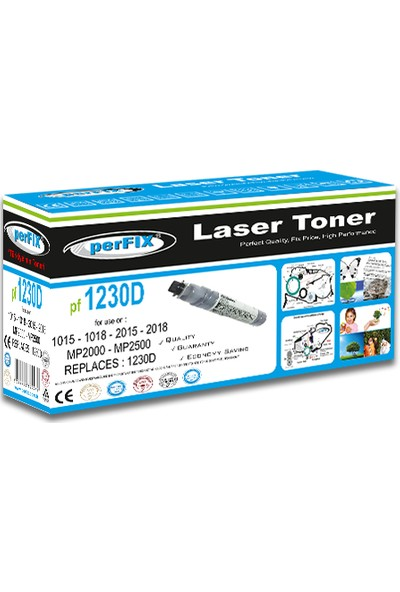 Perfıx 1230D - 1130D - MP2000 -MP1600 - Affıcıo MP1500 9000 Sayfa Siyah Muadil Toner