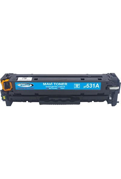 Perfıx Pf 531A - CC531A 304A (5311) 2800 Sayfa Mavi Muadil Toner