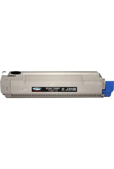 Perfıx Pf C810 - C830 - 44059120 8000 Sayfa Siyah Muadil Toner