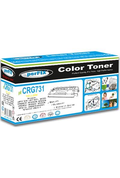 Perfıx Pf CRG731Y 1500 Sayfa Sarı Muadil Toner