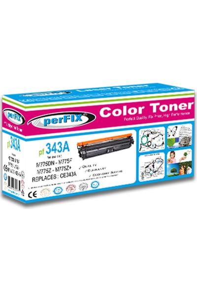 Perfıx PF343A 651A - 16000 Sayfa Kırmızı Muadil Toner