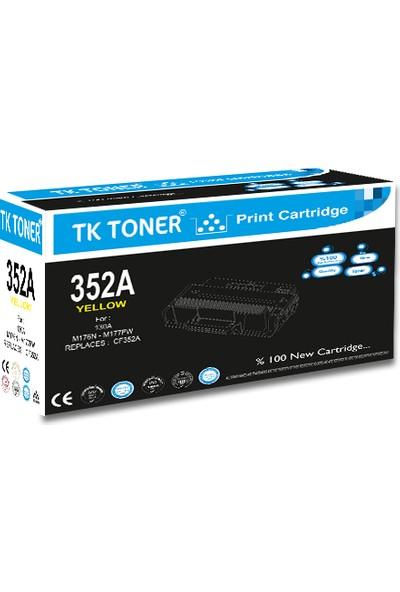 TK Toner CF352A 130A 1000 Sayfa Sarı Muadil Toner